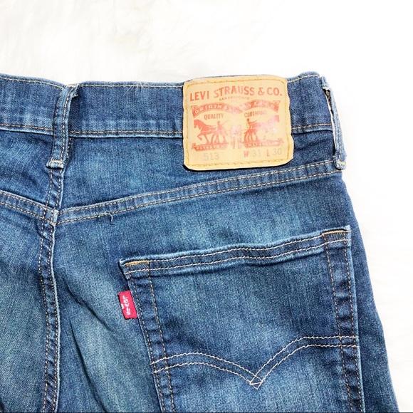 16998d714c Levi's Jeans | Levis 513 Slim Straight Stretch 31x30 | Poshmark